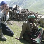 "Photographing while on the Armanath Yatra, Kashmir (<a href=""httpss://dalbirsindia.wordpress.com"" target=""_blank"">Photo by Dalbir Singh</a>)"
