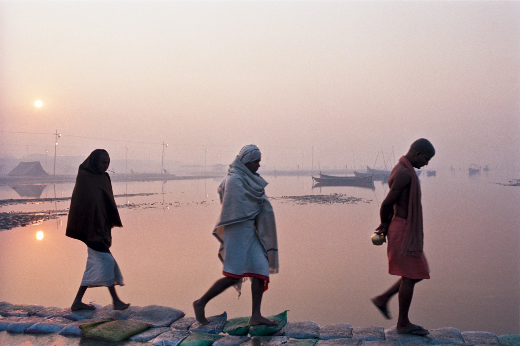 Ganges at Dawn, Kumbh Mela, Allahabad
