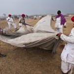 Packing up at Pushkar fair