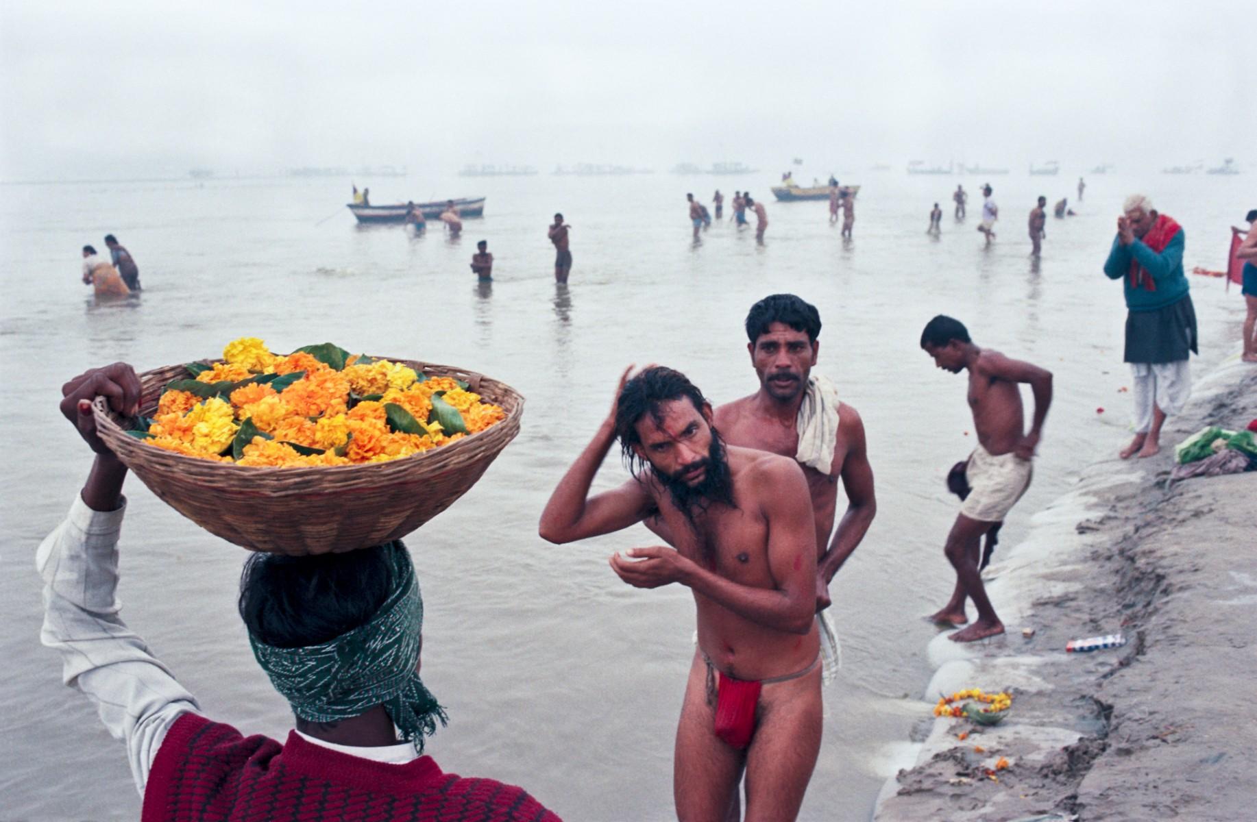 Bathing and Prayers, Kumbh Mela, Allahabad