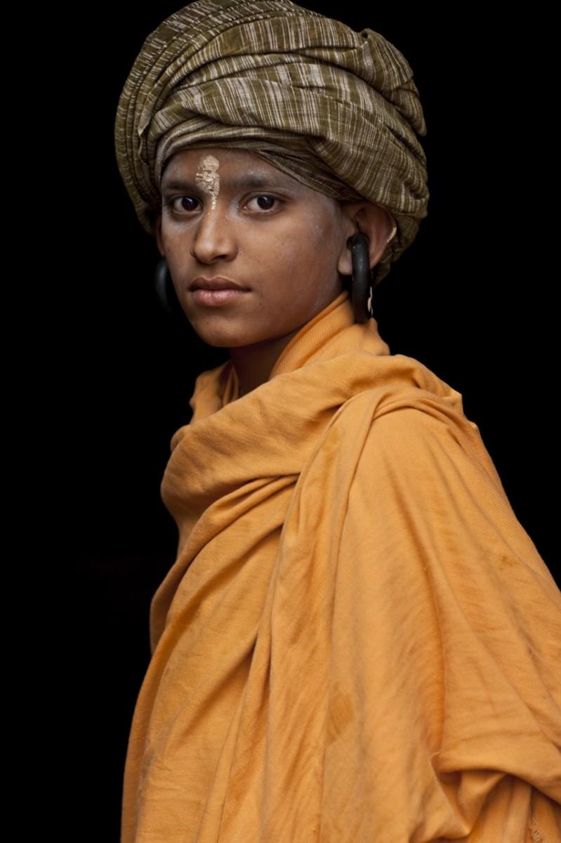 A young Nath yogi