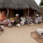 Sadhu visit Rajasthan