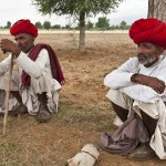 Shepherds take a break, Rajasthan