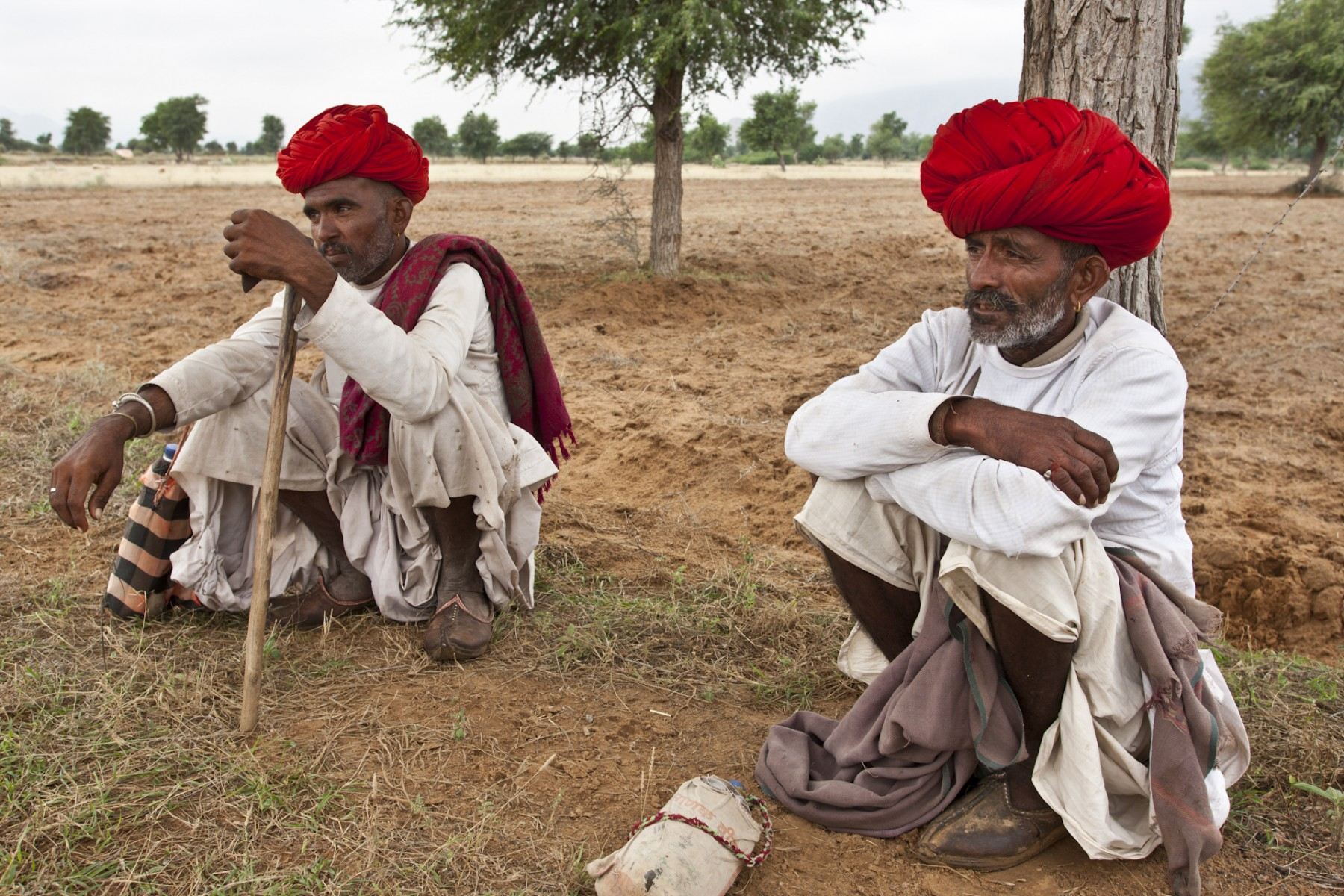 Shepherda take a break, Rajasthan