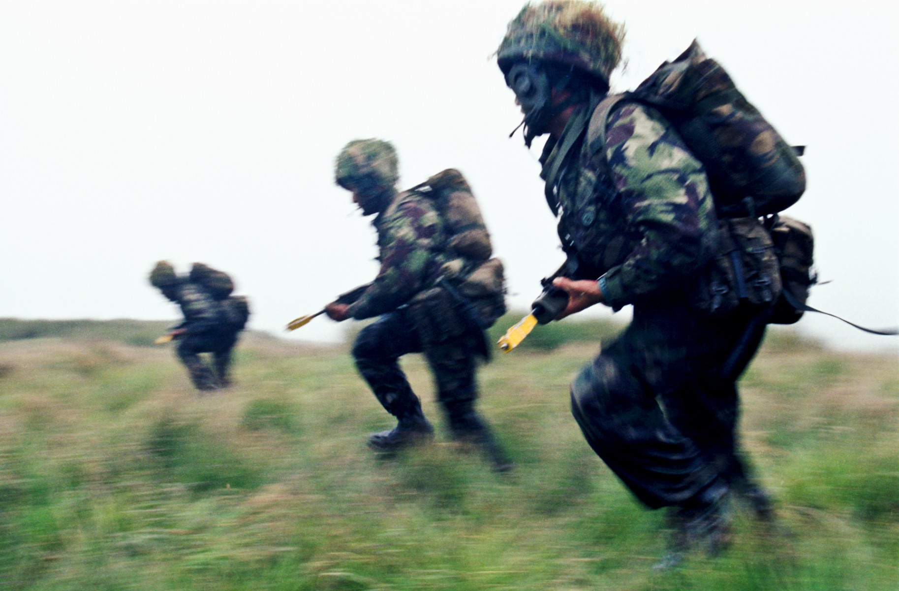 Infantry exercise, Scotland