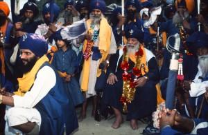 Baba Santa Singh, Anandpur Sahib