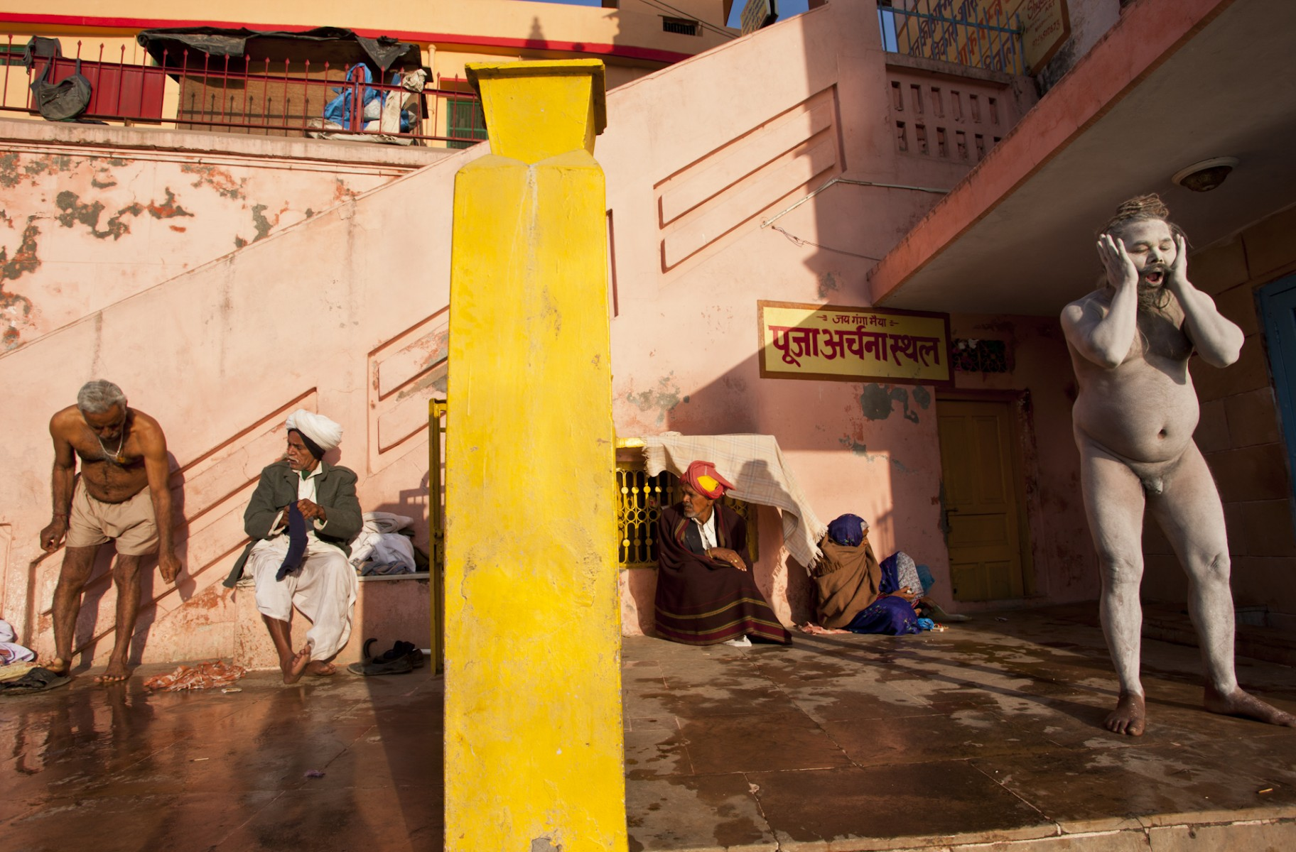Morning Bathing, Kumbh Mela, Hardwar