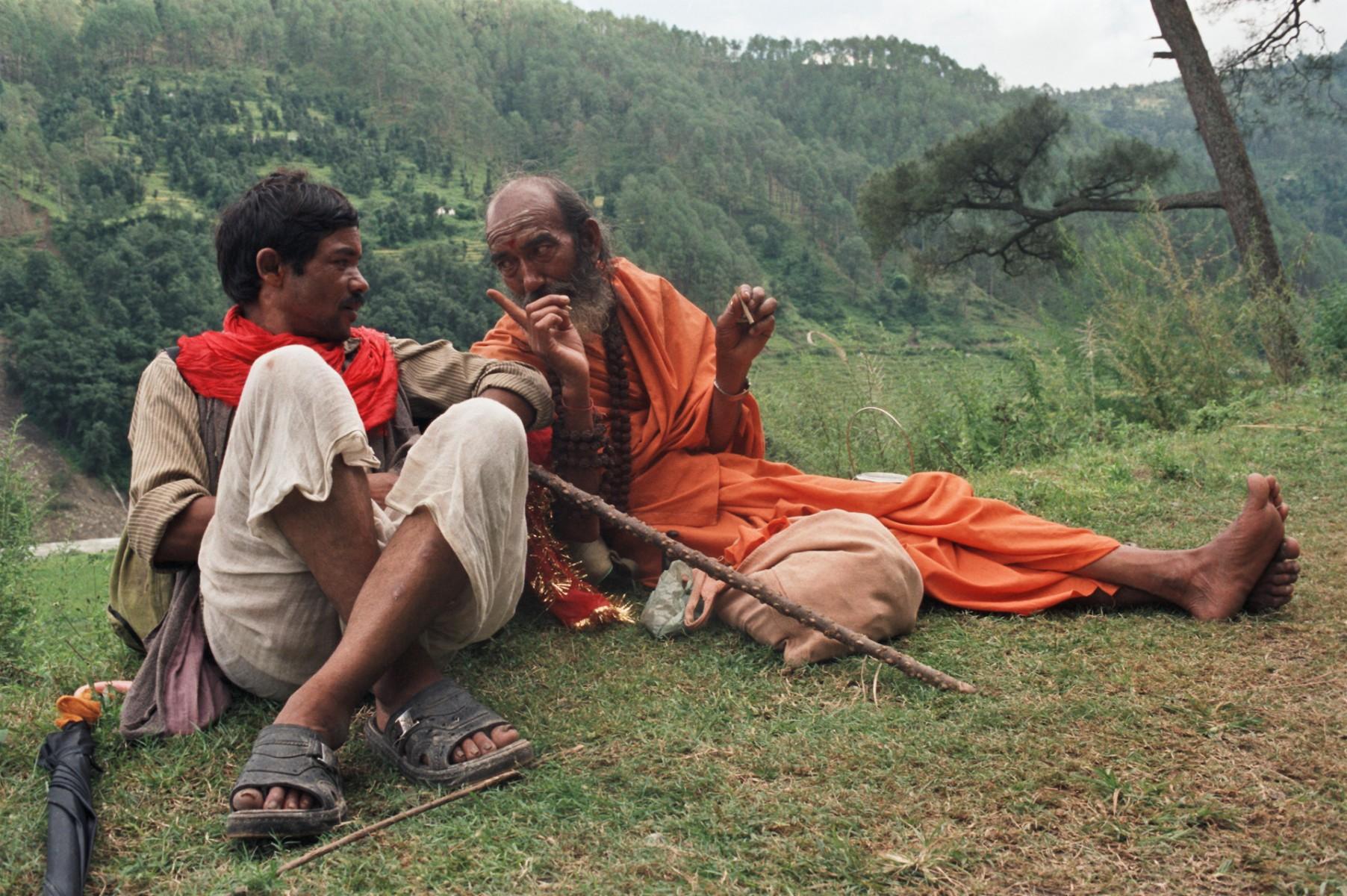 By the Wayside, Royal Pilgrimage, Himalayas