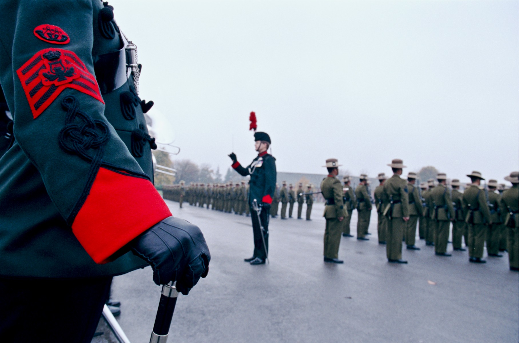 Passing out parade, Catterick Camp