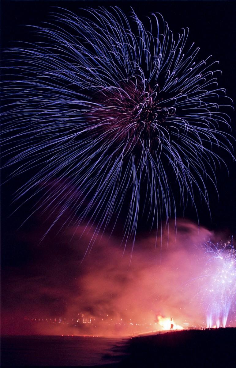 Fireworks, Hastings