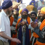 "Meeting and Greeting at Hola Mohalla in Anandpur Sahib, Punjab (<a href=""http://dalbirsindia.wordpress.com"" target=""_blank"">Photo by Dalbir Singh</a>)"