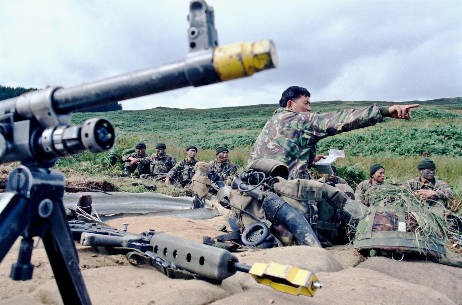 Tactical training, Otterburn
