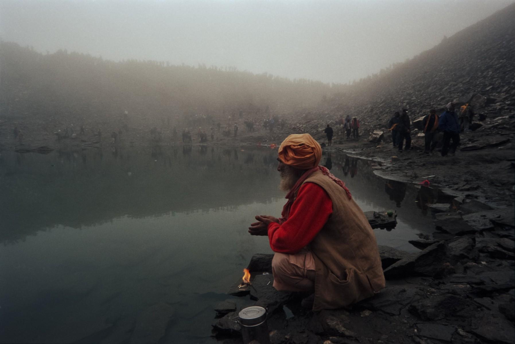 Rupkund on the Nanda Devi Raj Jat, Garwhal Himalayas