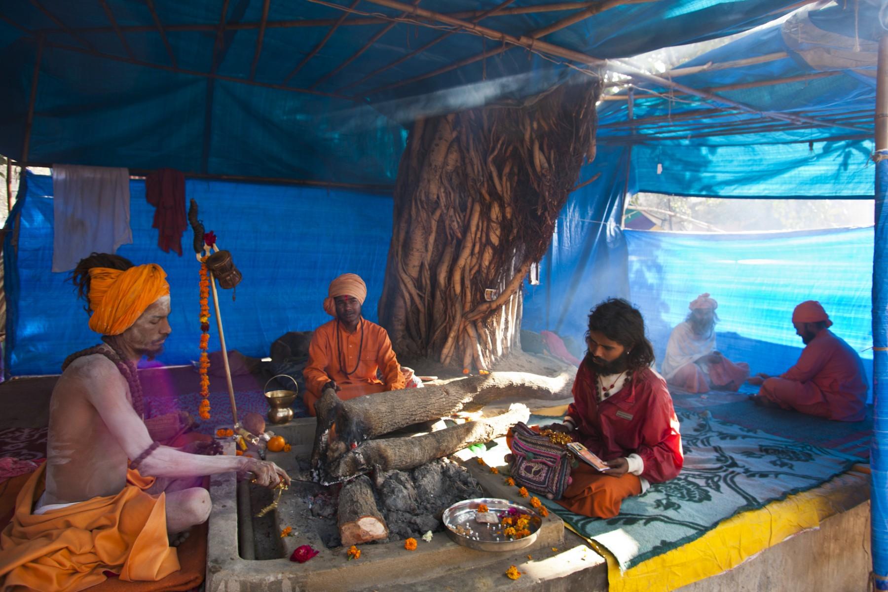Sacred Fire, Kumbh Mela, Hardwar