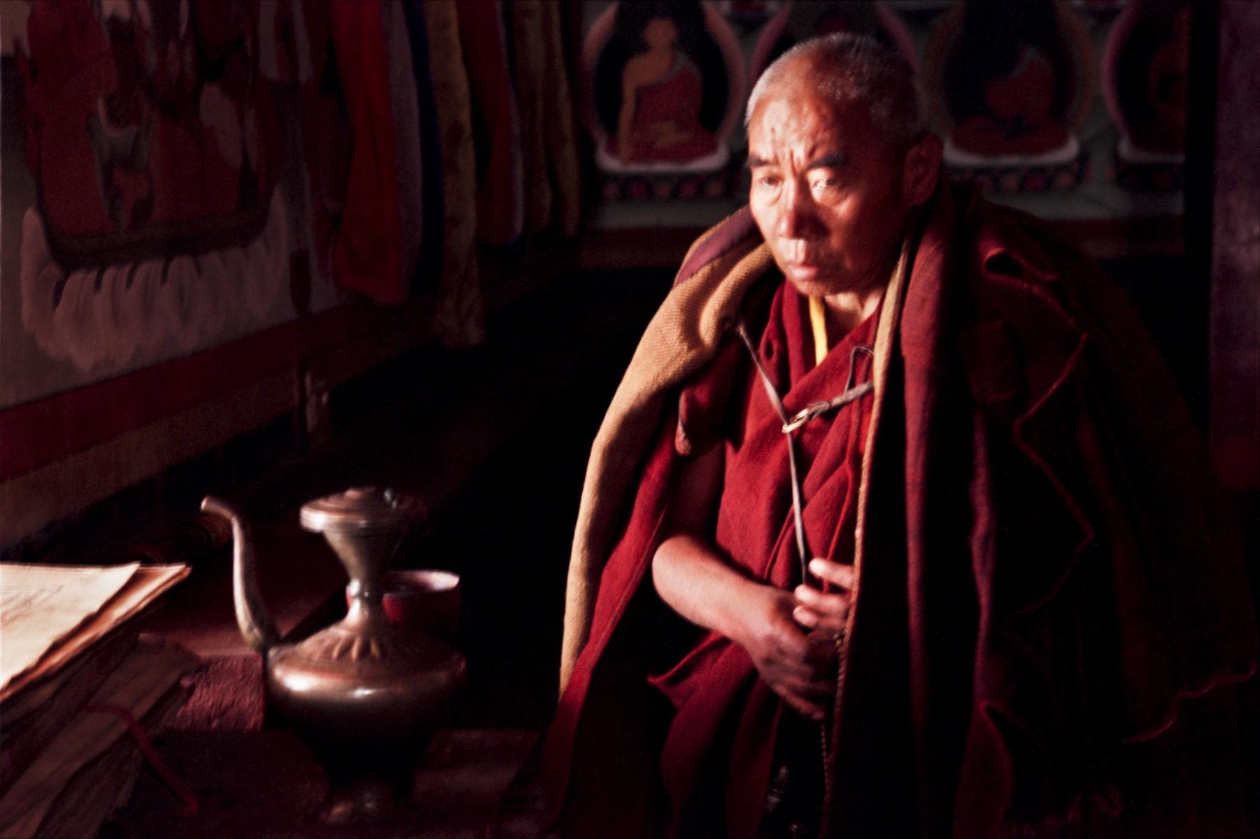 Senior Lama Tawang Monestry