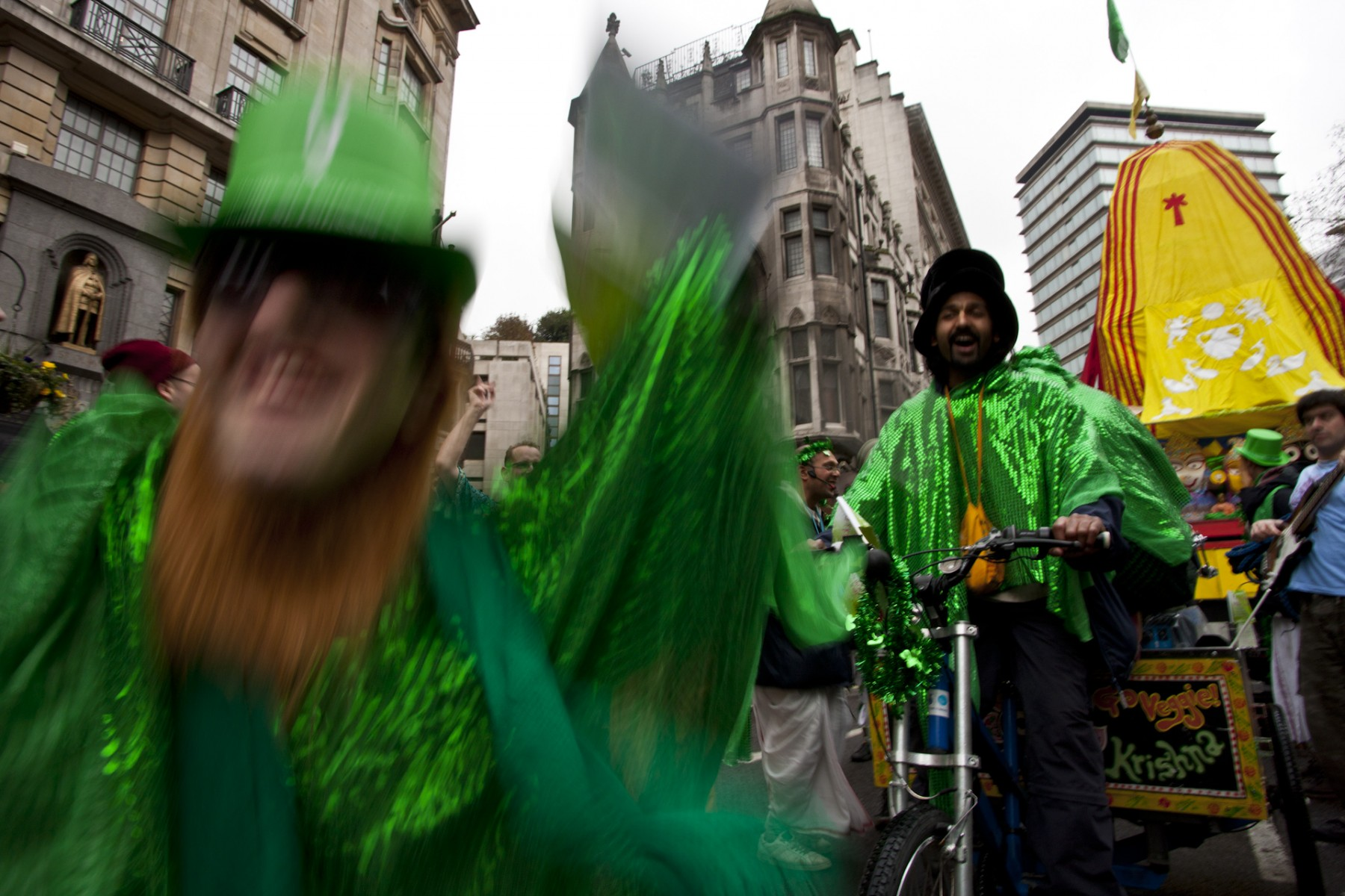 St. Patrick's Day Street Carnival, London