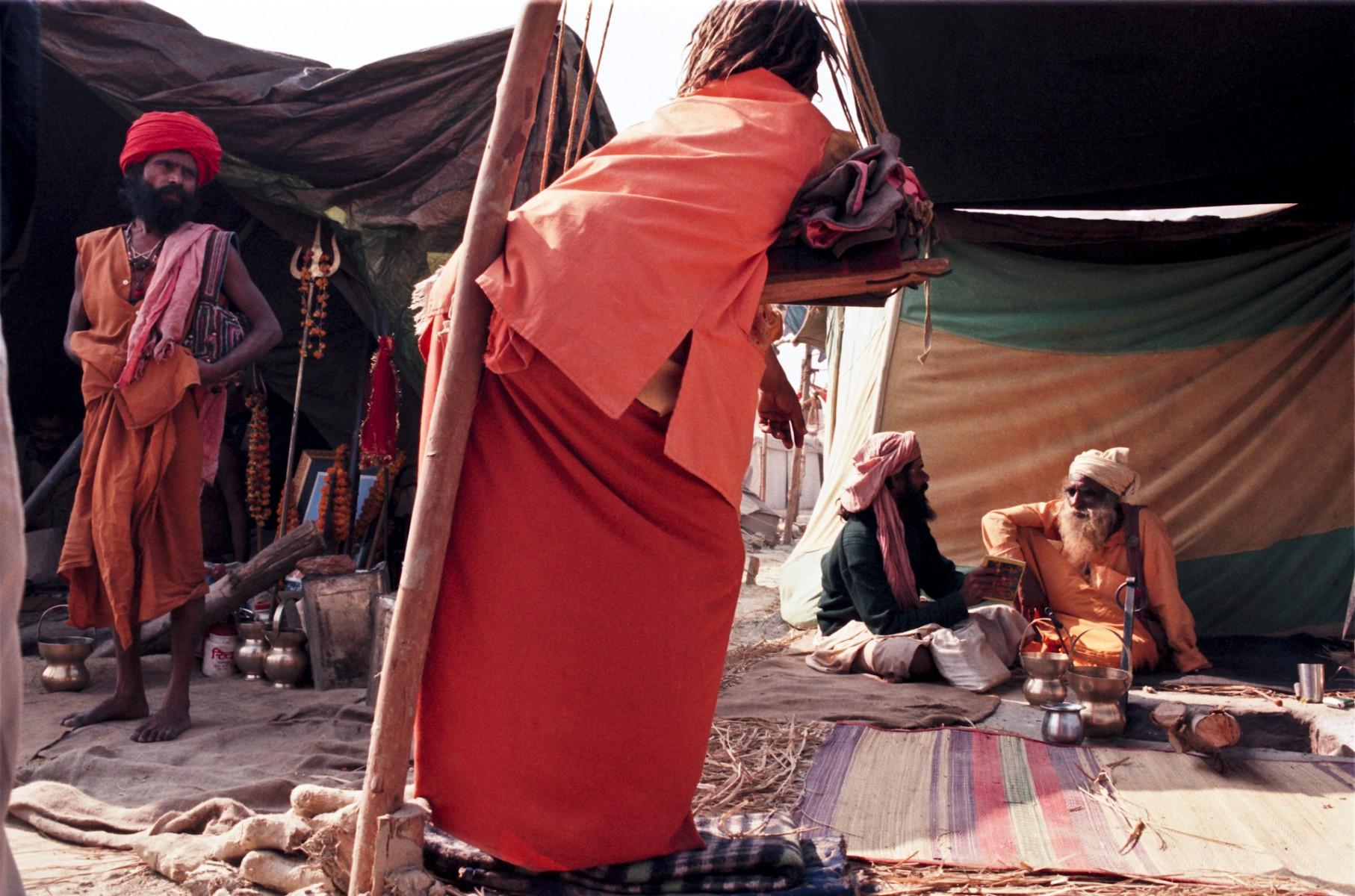 Hindu Austerity, Kumbh Mela, Allahabad