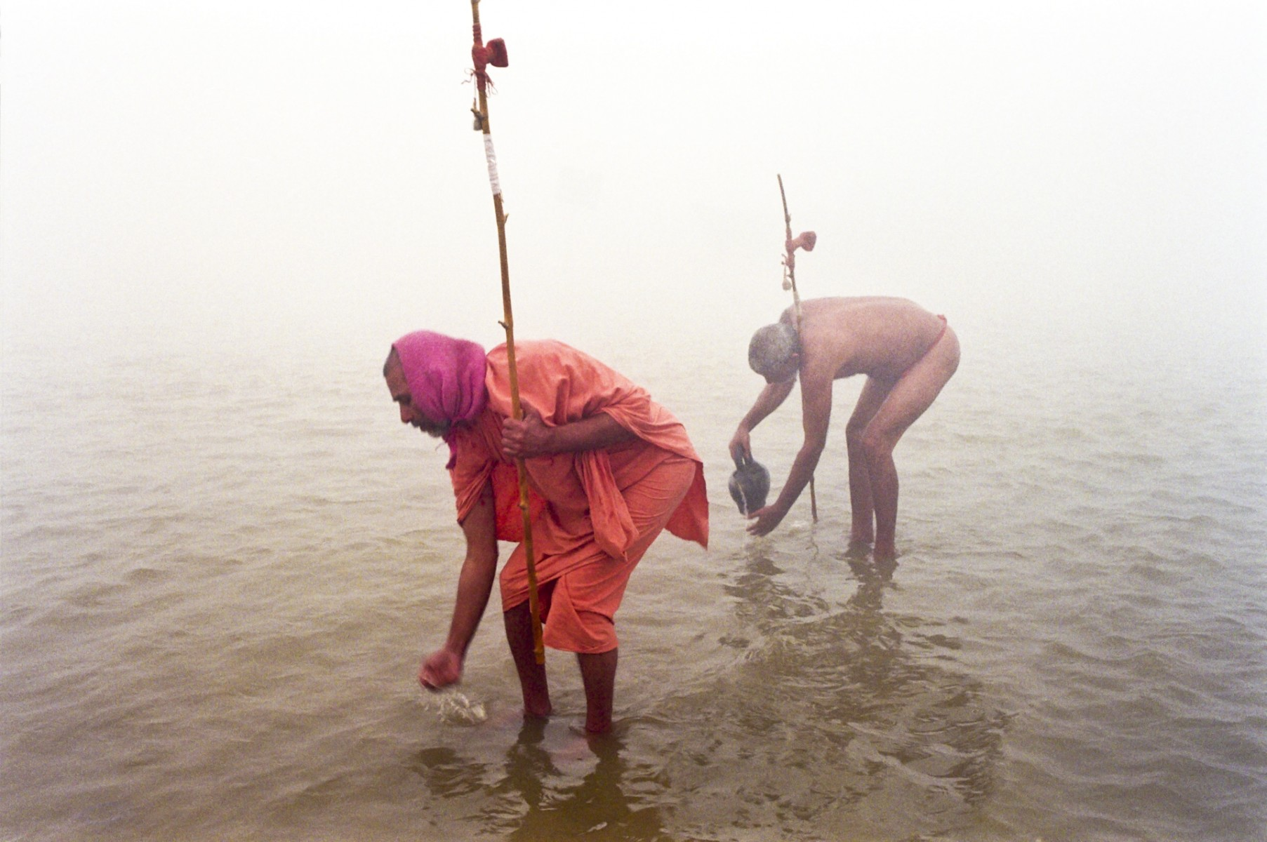 Monks, Kumbh Mela, Allahabad