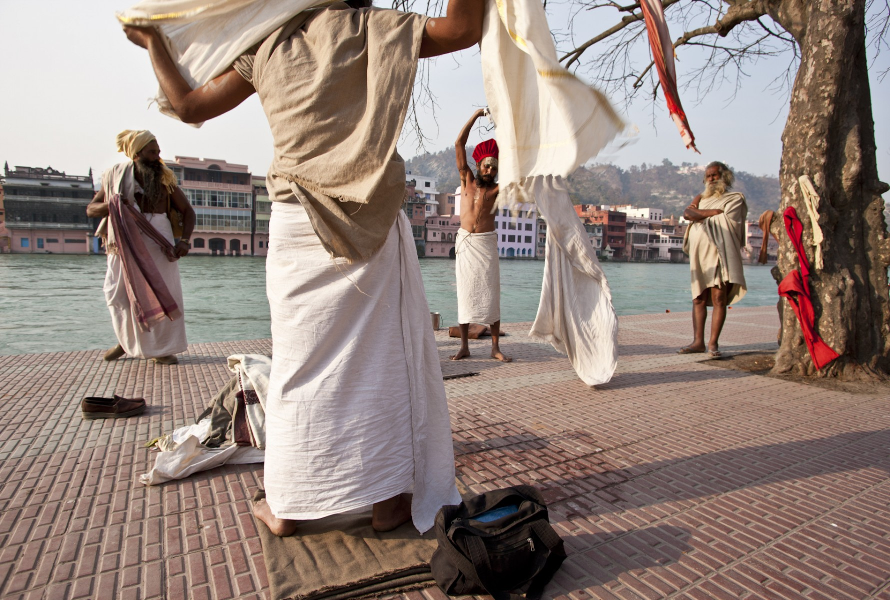 The Ganges at Hardwar, Kumbh Mela, Allahabad