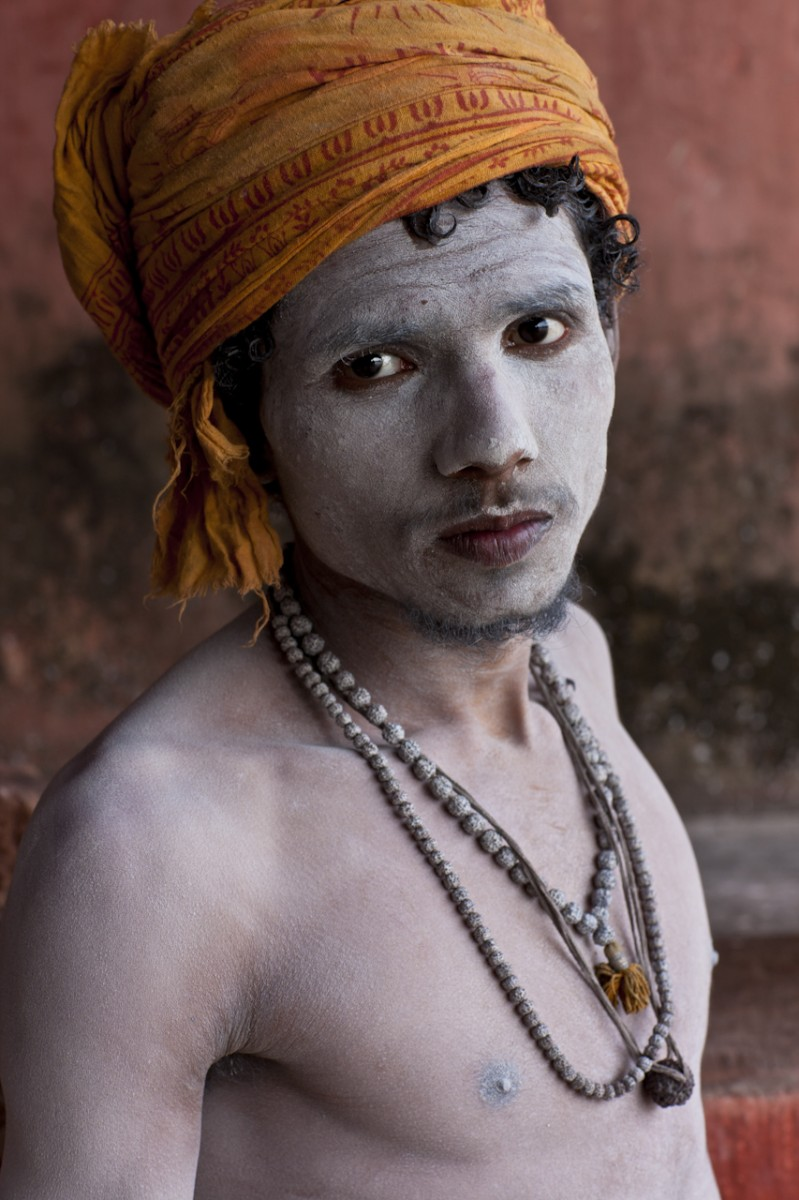 After His Bath, Kumbh Mela, Hardwar