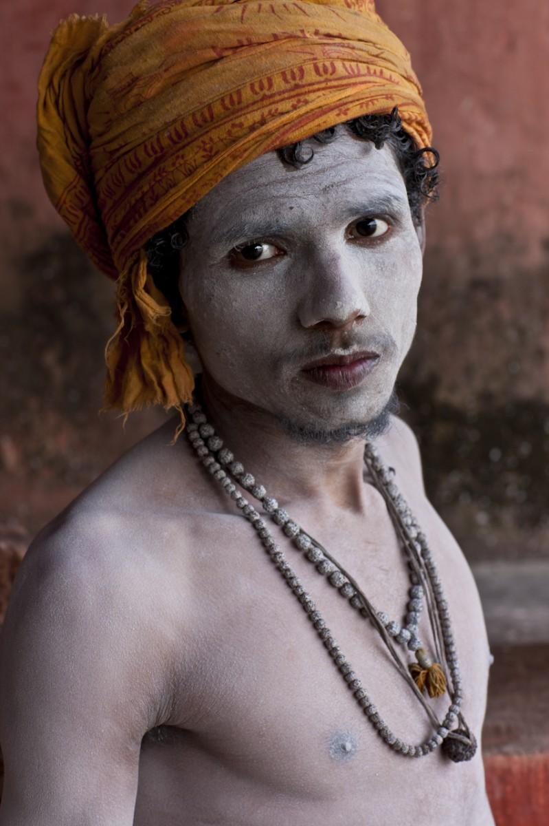 After His Bath, Kumbh Mela, Hardwar