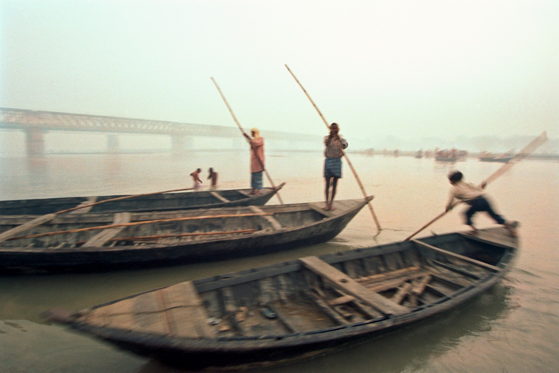 Boatmen at Sonepur
