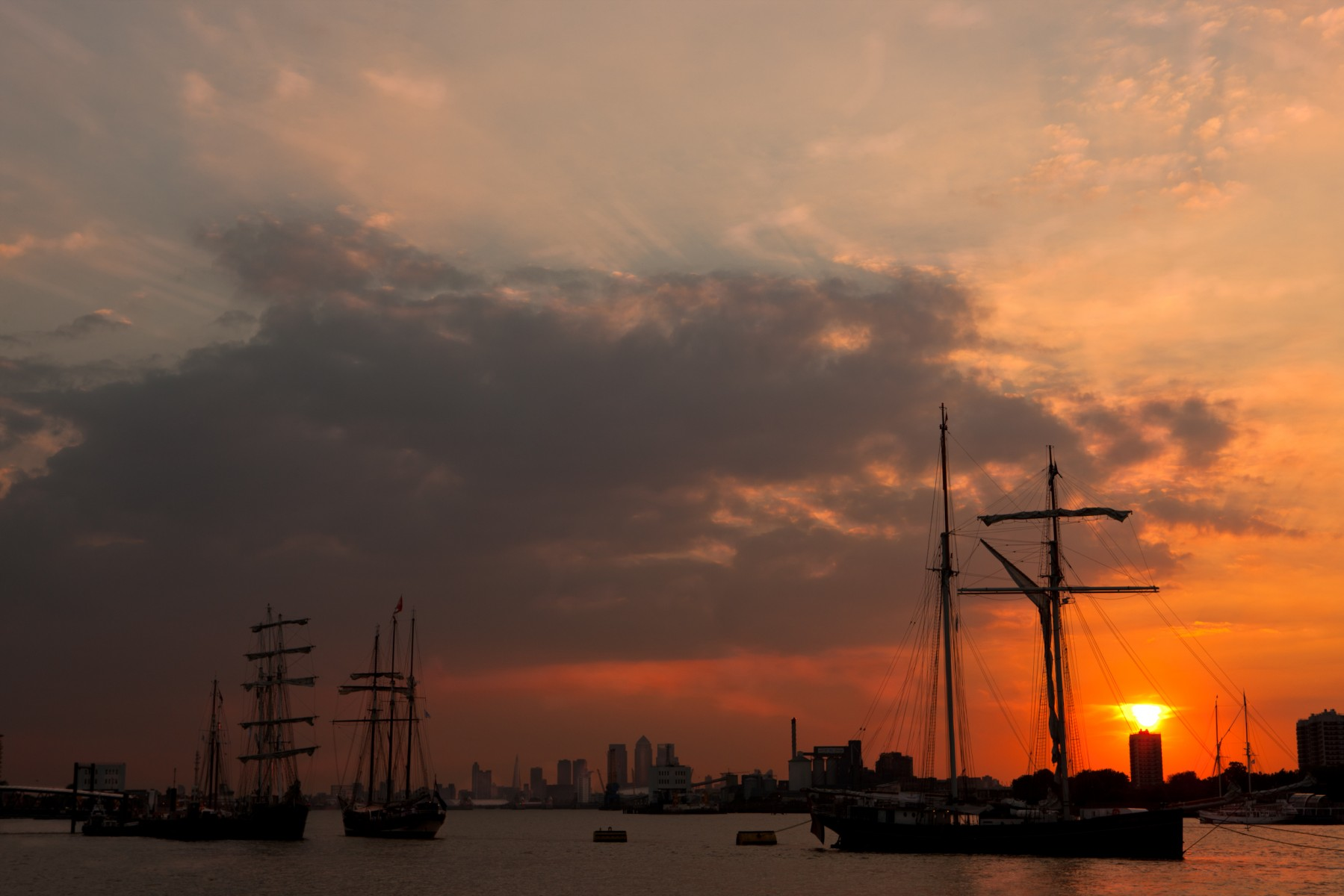 Woolwich Pier at sunset