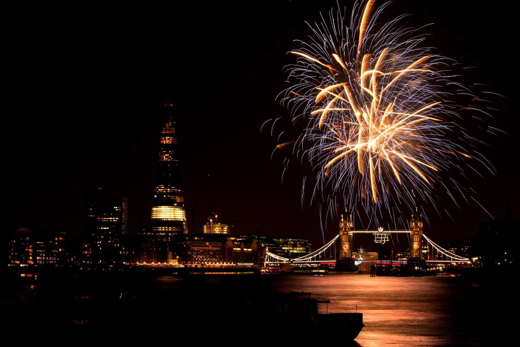 Fireworks to mark the end of Paralympic Games