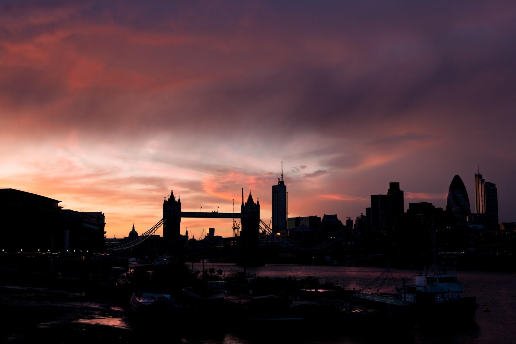 Tower Bridge from Bermondsey Wall