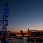 London Eye and the Palace of Westminster 2