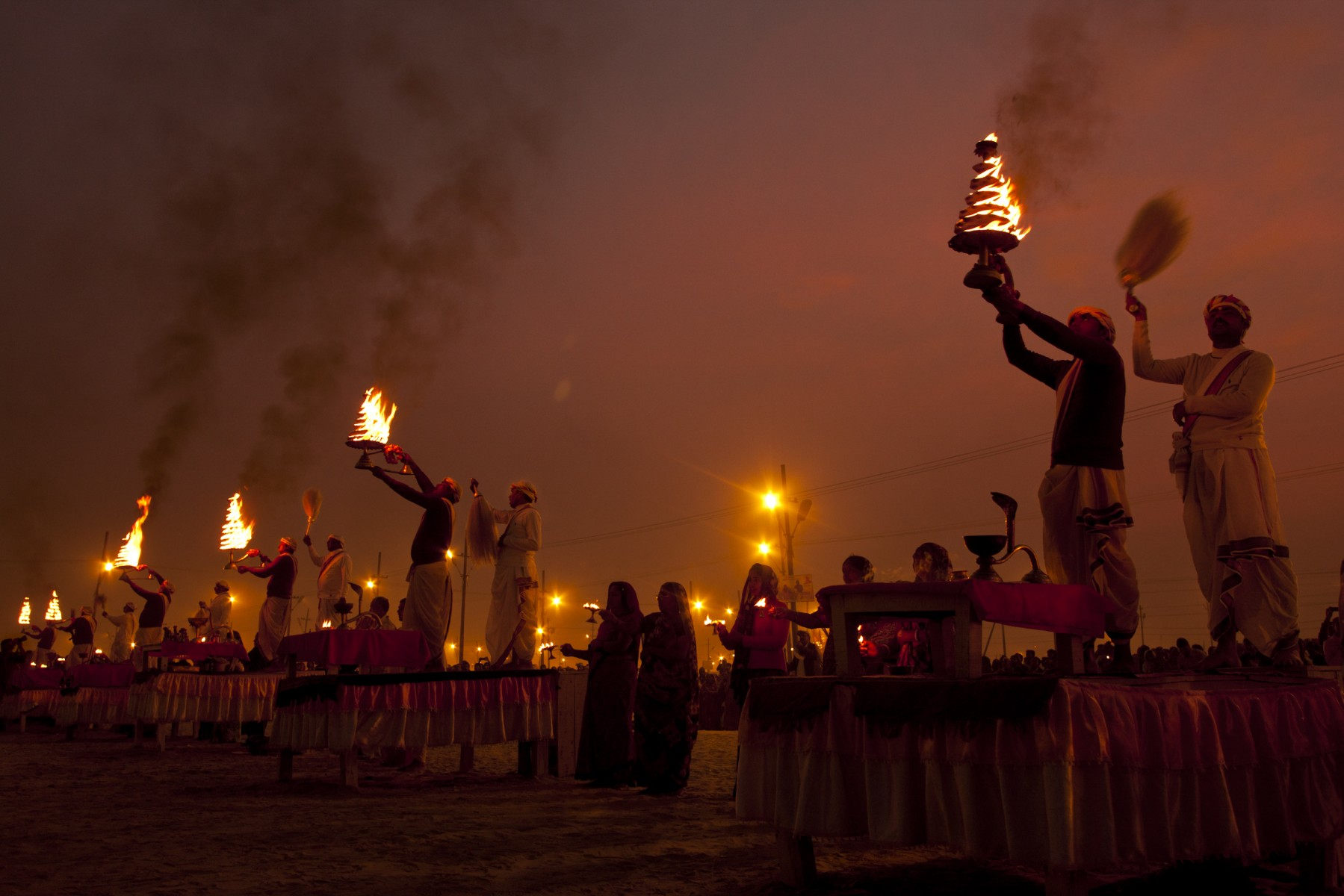 Aarti by the ganges