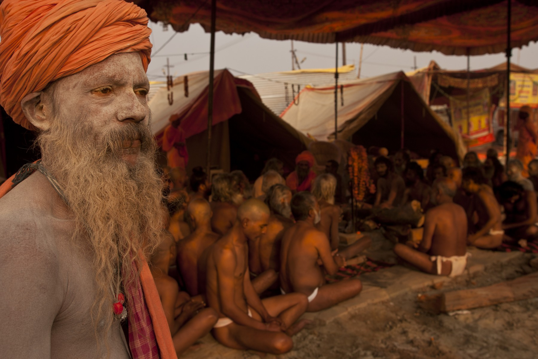 Karan Giri overlooks initiates