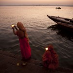 Candles by the Ganges Varanasi