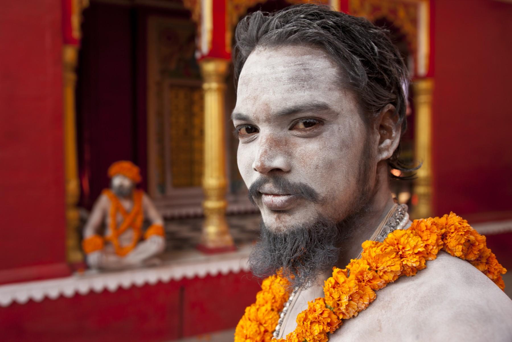Sadhu from Niranjani Akhara portrait