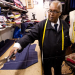 George Dyer in his shop