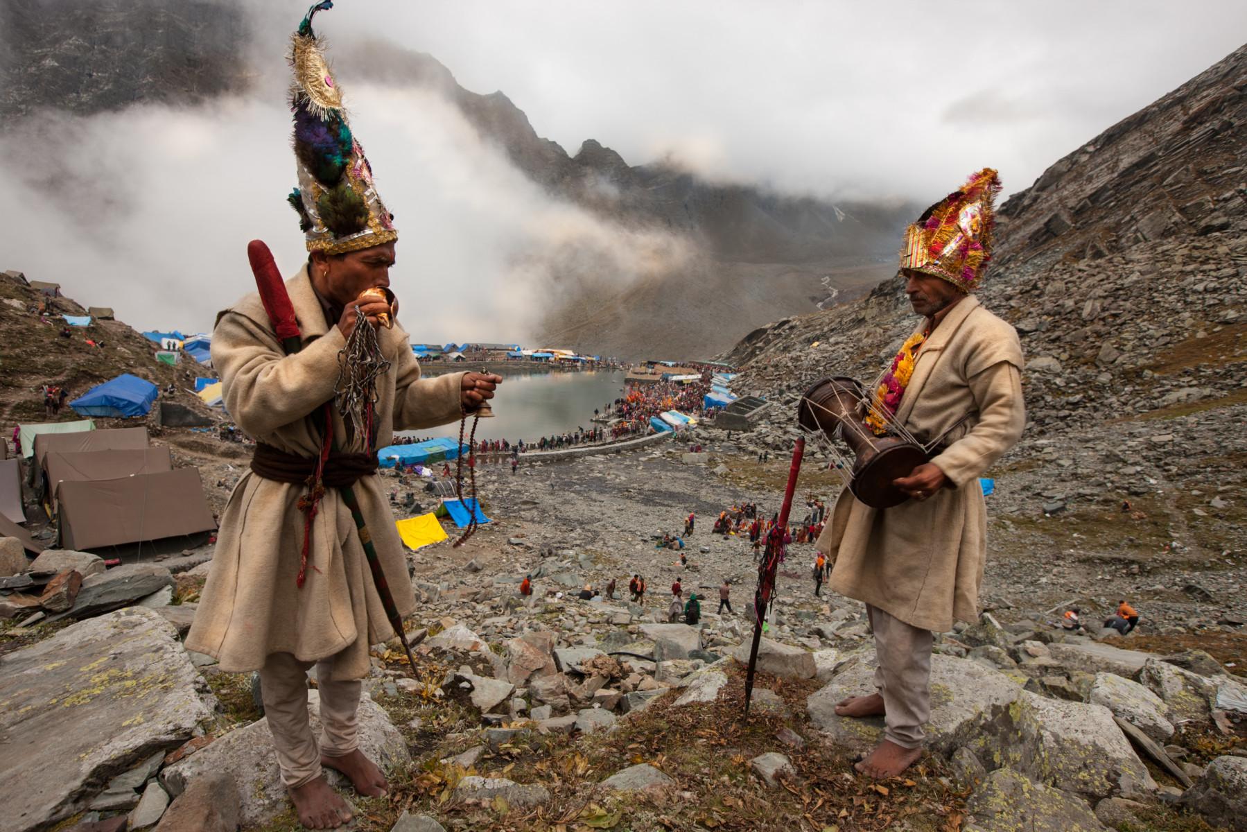The pilgrimage to Manimahesh
