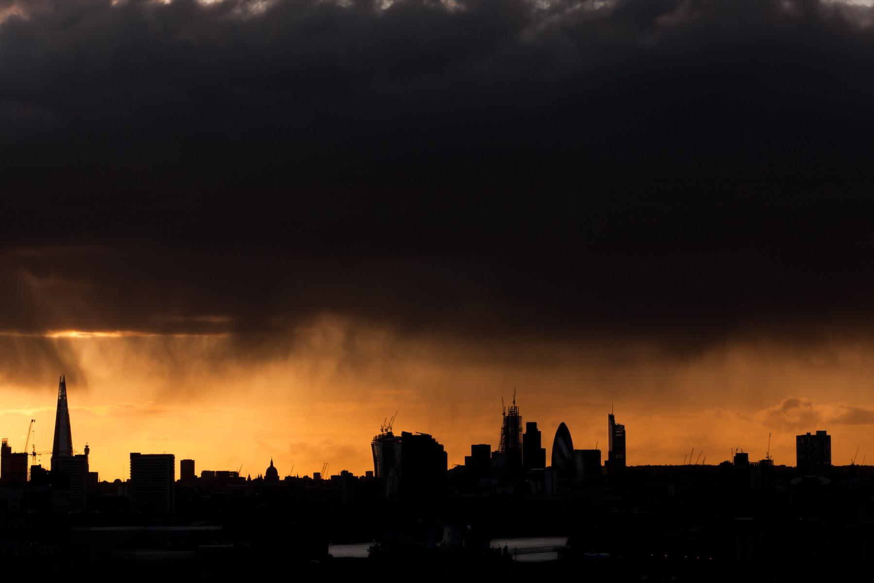 London skyline from Greenwich 1