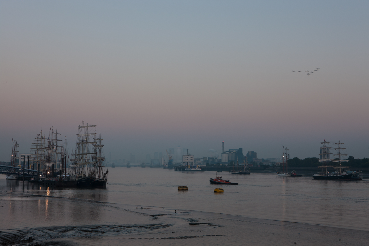 Woolwich Pier at dawn