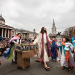 Passion of Jesus Trafalgar Square, London