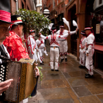 Morris dancing in the City of London