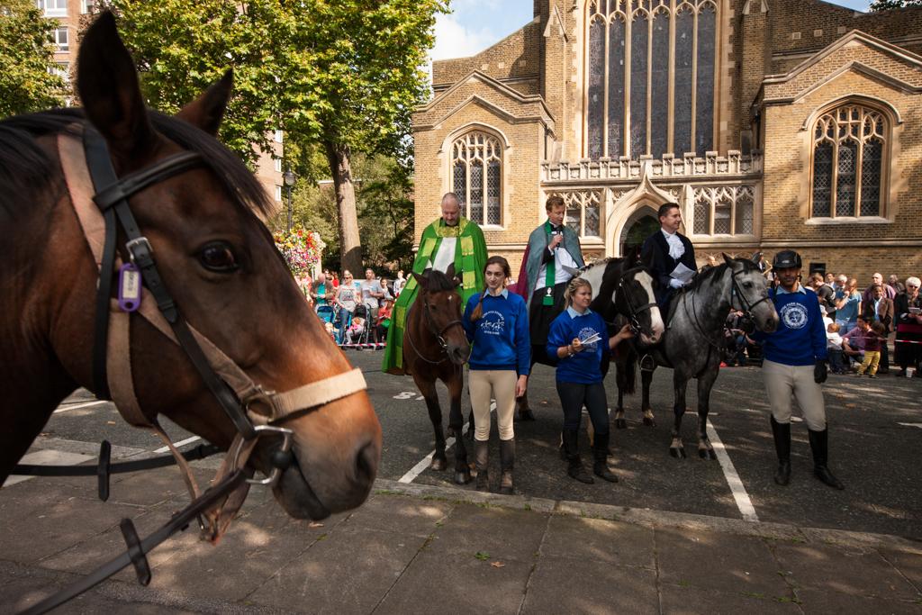 Horseman's Sunday, St. John's Hyde Park