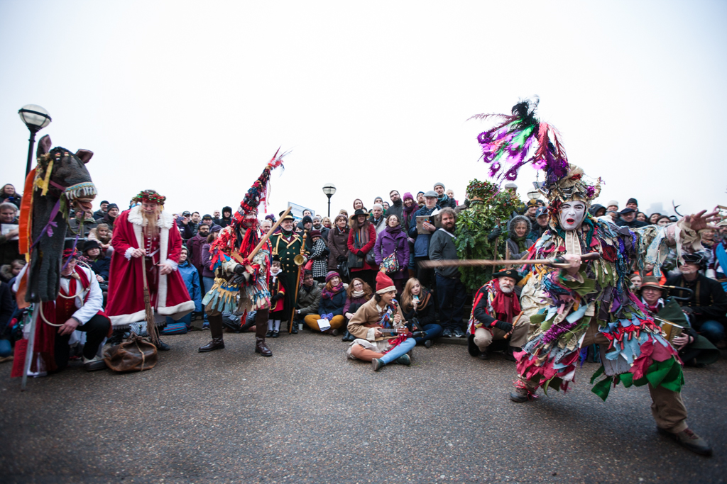 The Mummers play