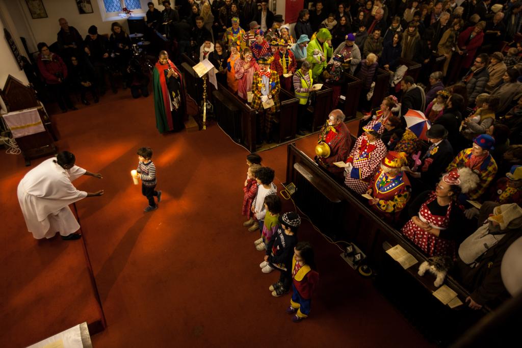 Clowns Annual Service