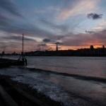 The foreshore near Rotherhithe